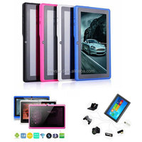 7 inch android 3g wifi 3d tablet pc/ quad core tablet with high resolution