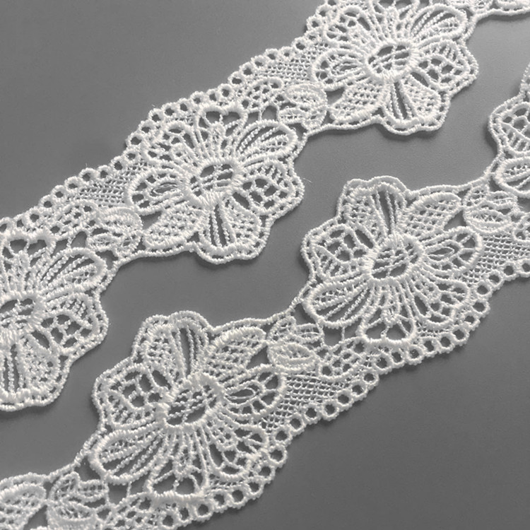 Newest style fashion lace trim polyester