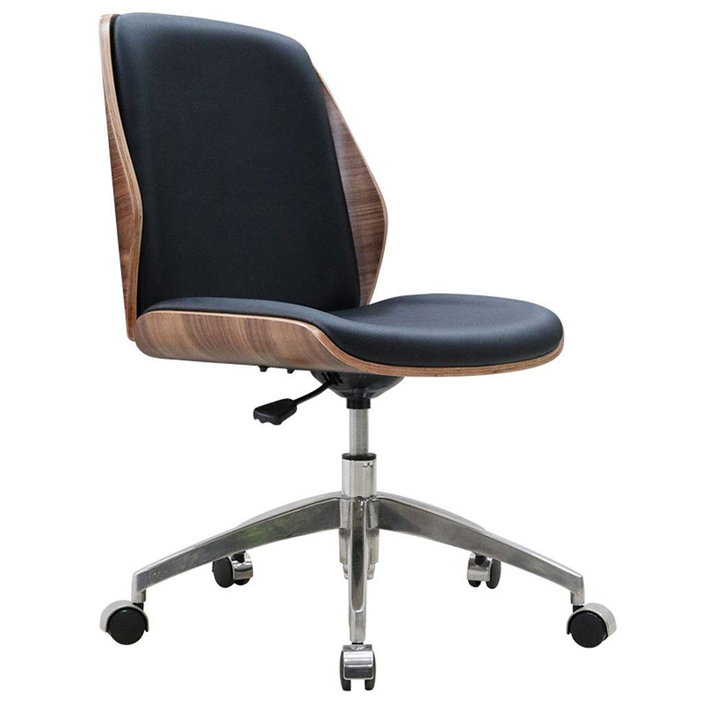 Desk Chairs Home Home Computer Chair Office Conference Chair Solid Wood Without armrest Chair Modern Minimalist Chair