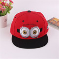 2016 baseball cap children yellow Gorras of God Casquette cartoon stealing movie parents Minions flat canvas