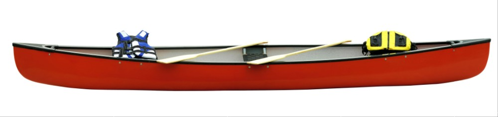 Canadian style LK-CA02 Canoe/ kayak three layers with wood three seats