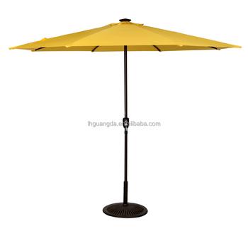 Outdoor Strand Zonne Patio Mobiel Usb Opladen Paraplu Led ...