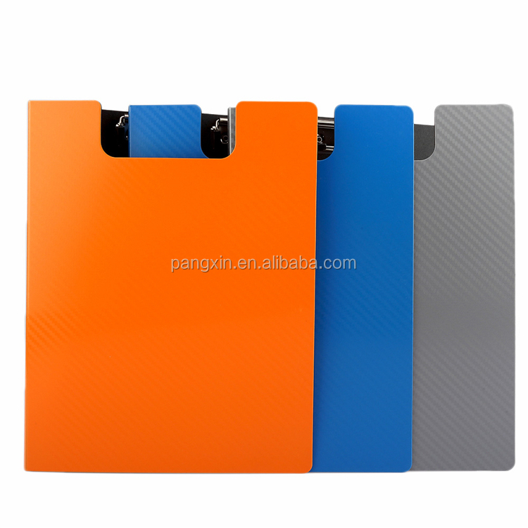 2019 New arrival Office & School used double sided clip board pp high quality clipboard with cover