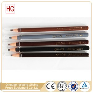 Hot sale paper roll waterproof cosmetic eyebrow pencil