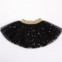 New design Multi-color optional chiffon 100% Polyester tutu skirt for girl