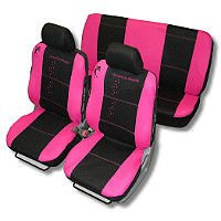 Fairydust Car Seat Cover Set - Pink And Black - Buy Universal Car ...