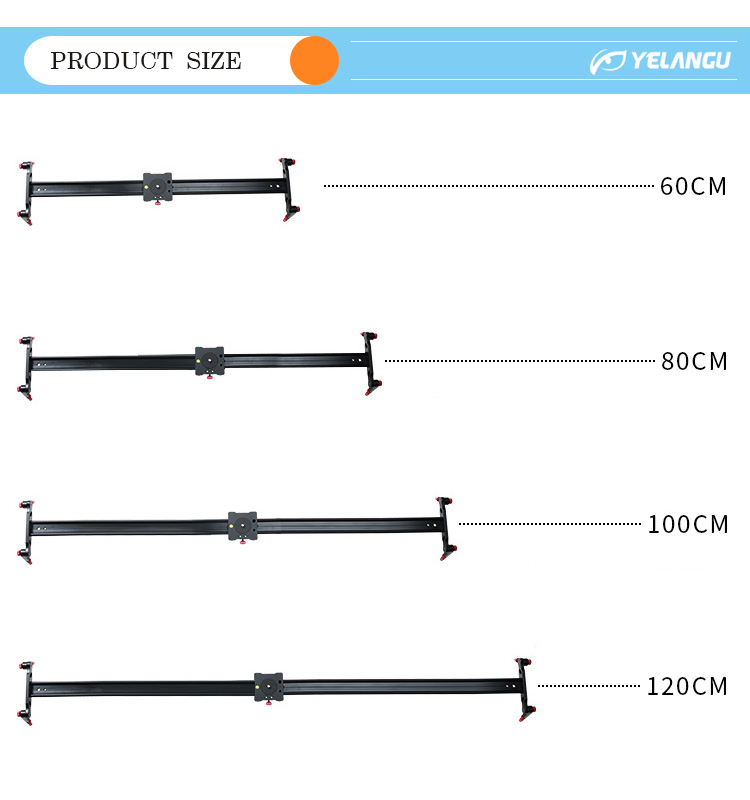 YELANGU 80cm Camera Slider for DSLR Camera