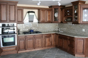 Mocha Color Cabinet Custom Made Kitchen Cabinetry
