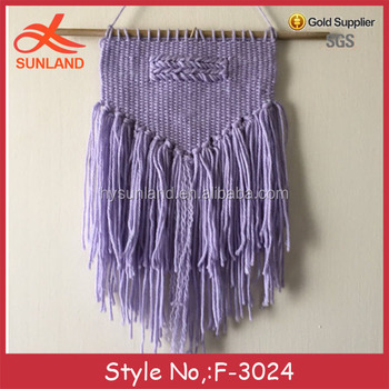 F-3024new Handmade Crochet Knit Macrame Wall Hanging Fashion Wall ...