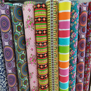 Wholesale Reactive Printed Canvas Anti-Static Knitted Cotton Fabric For Garment