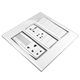 India type glass light wall light SKD wholesales electrical switching sockets panels plate good price modular switches