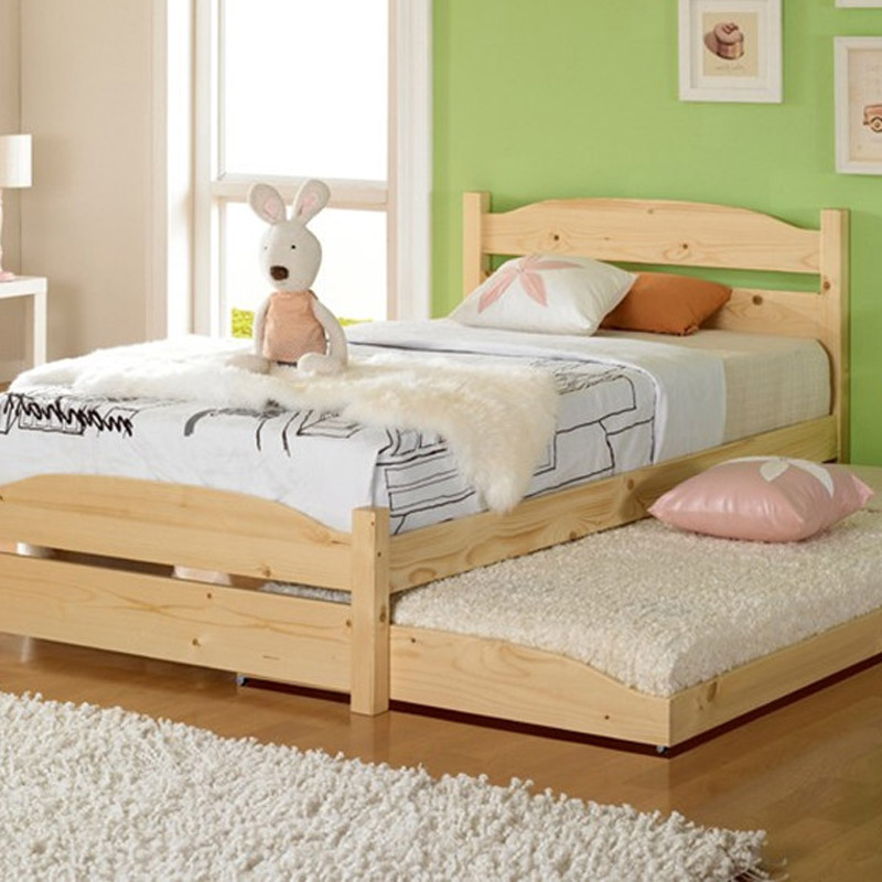 Little Boys Bed: Good Quality Solid Wood Bed Children Girl Cute Little Boy