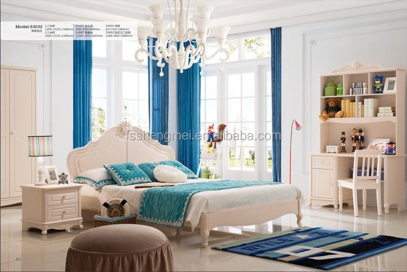 Goede kwaliteit mooie kamer meisjes slaapkamer meubilair stapelbed