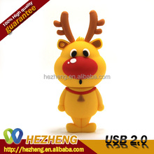 Wholesale Custom 16GB Funny PVC USB Flash Memory