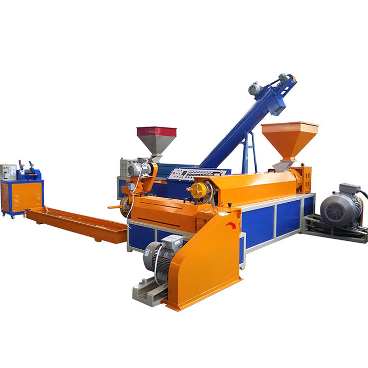 Union 300 kg/u capaciteit plastic film recycling machine pellets making machine