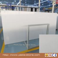 Pure White Quartz Stone Slabs Countertops Vanity tops