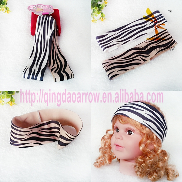 Fashion Wholesale spandex headbands for kids