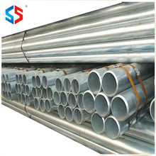 SS-008 Tianjin Manufacturer Provide Promotional Product Galvanized ERW Steel Pipe For Construction Materials