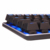 Ergonomic Stepwise Best USB Mechanical backlit gaming Keyboard --GMK-068-L