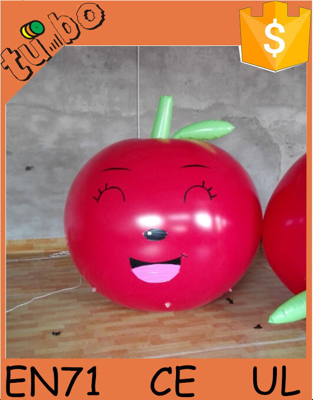 custom giant inflatable apple/inflatable fruit/inflatable replica for advertising