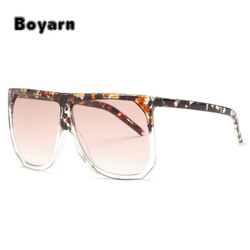 abf140bb3e Women Oversize Square frame Summer Style Luxury Brand Designer Mirror  eyewear girls sunglasses latest fashion custom