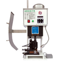 wire Terminal Crimping machine 1.5T Low noise Terminal cutting stripping Machine Cable Crimper