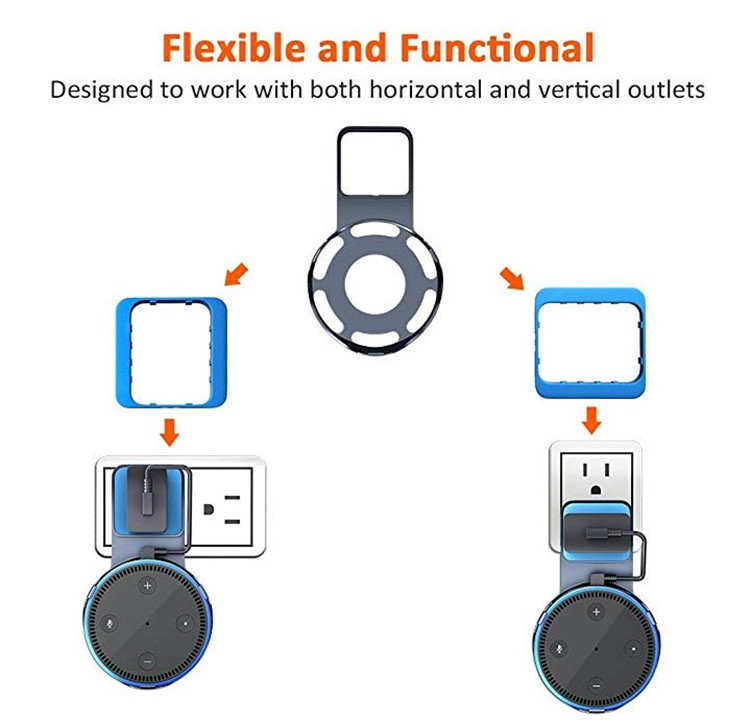 For amazon alexa echo dot 2 accessories Outlet Wall Mount Hanger Stand