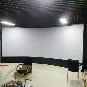Hd Silver Screen Support 4k Projector 3d Curved Fixed Frame ...