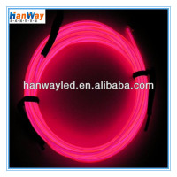 bright el glowing wire/ led light rope el glowing wire/ el chasing wire