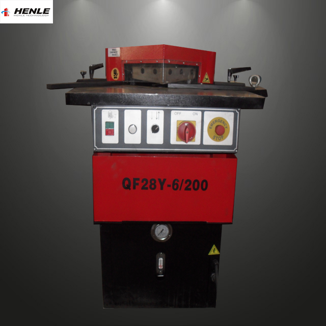 90 degree notch cutting machine,optional type notching machine