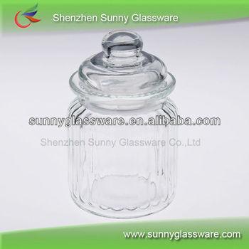 Clear Glass Storage Jar With Lid Wholesale Buy Glass Clear Jar Mesmerizing Decorative Glass Jars With Lids Wholesale