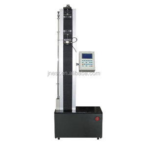 1kn 5kn single column electronic tensile tester / tensile and elongation tester