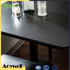 Amywell high density dammproof HPL Phenolic resin kitchen table
