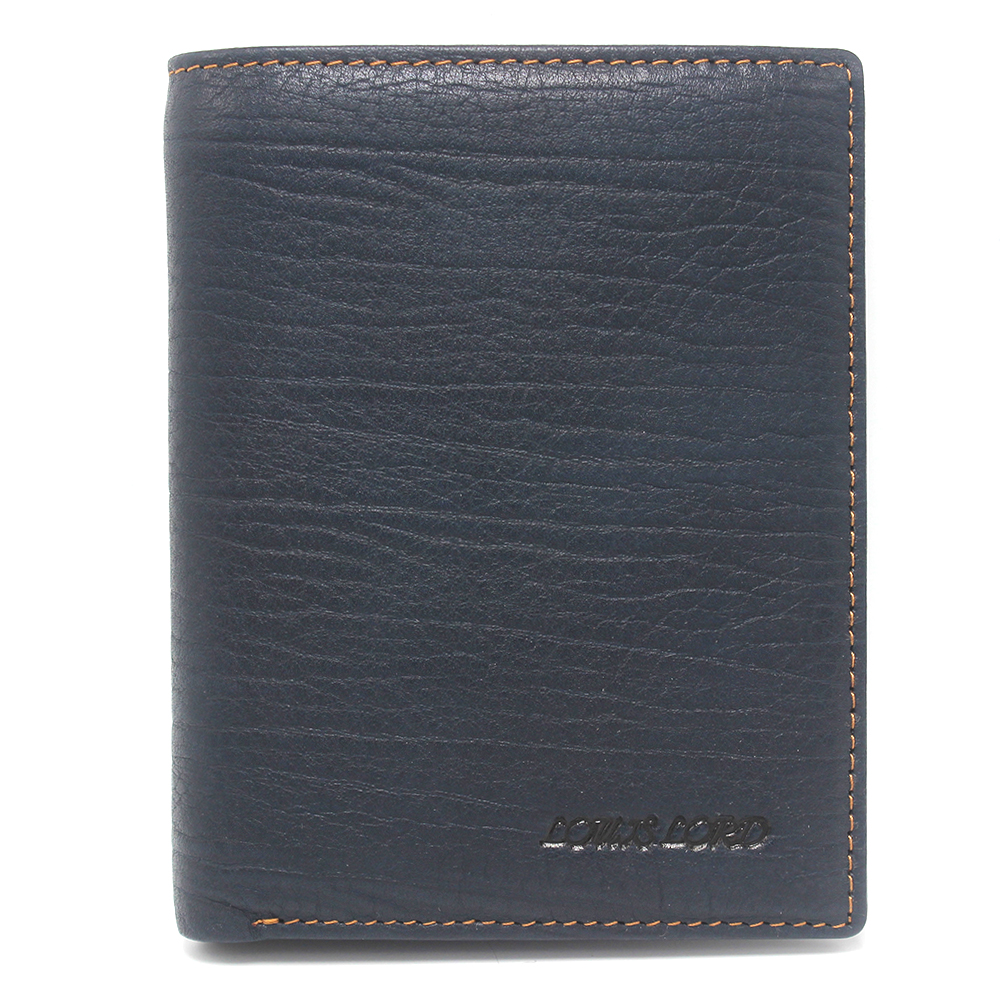 Handmade RFID Blocking Slim Genuine Leather Elastic Wallet For Men