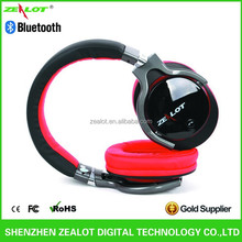 Newest Factory Bluetooth Headset Metal Shell + Leather Band With 3.5mm Stereo Plug for MP3 Player OEM Acceptable