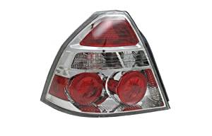 Chevy Aveo Sedan Replacement Tail Light Assembly - 1-Pair