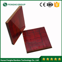 High-strength construction bamboo plywood panels for concrete formwork