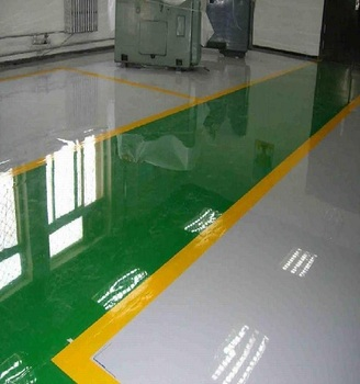 High Gloss Hardness Washable Epoxy Industrial Floor Paint