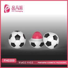 2017 ball shape empty lip balm container