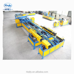 high strength automatic aluminum tube air duct making machine
