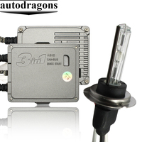 35W 55W 4300k HID Xenon Conversion Kit H1 H3 H4 H7 H11 9005 9006 Xenon HID Kit with HIDH7 bulb short and metal type