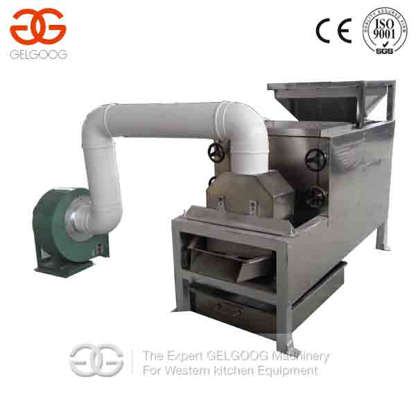 Cocoa Bean Processing Machine|Roasting And Peeling Machine For Cocoa Bean Processing