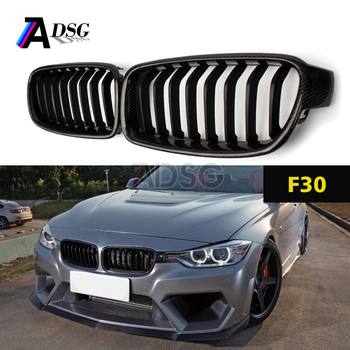 F30 F31 Carbon Fiber Front Kidney Grill For Bmw 3 Series 1 Slat Buy F30 Front Grill F30 Cf Grill 3 Series F30 Cf Grill Product On Alibaba Com