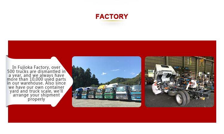Japão usado isuzu bom condicionado caminhão corpo liso para atacado