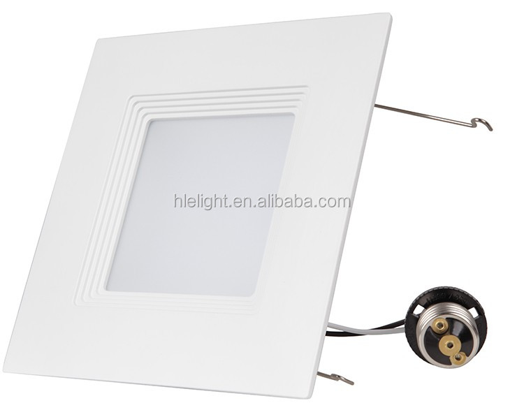 4'' and 6'' white color square led <strong>downlight</strong> cob led light <strong>downlight</strong>