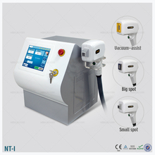 handle with big spot size and small size diode laser 808 hair removal