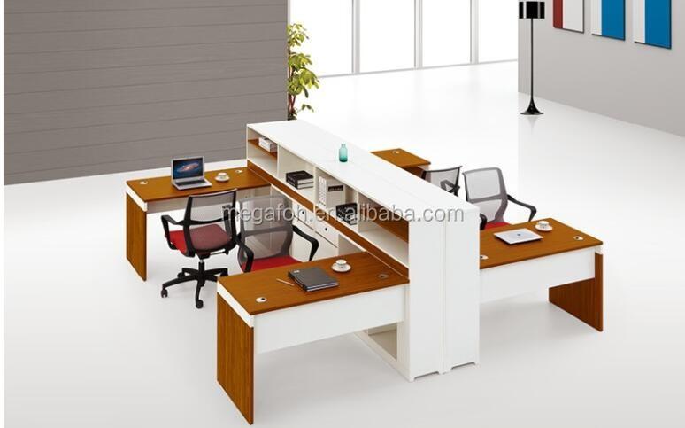 F brica personalizada 4 asiento estaci n de trabajo for Cubiculos para oficina precios