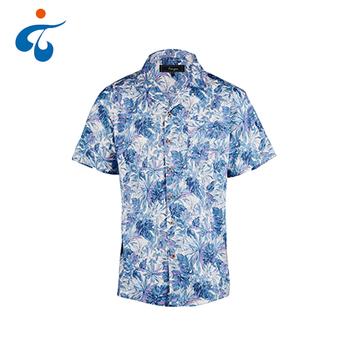650a2eea Bulk Wholesale Soft Tropical Floral Men Hawaiian Print Shirts - Buy ...