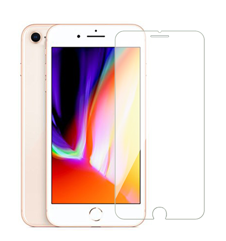 9H 2.5D Clear Screen Protector Tempered Glass for iPhone 7 7plus 8 8plus