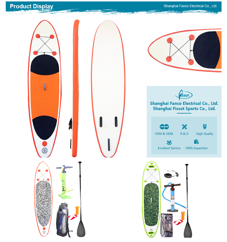 Original design surf core paddle boards plastic surfboard